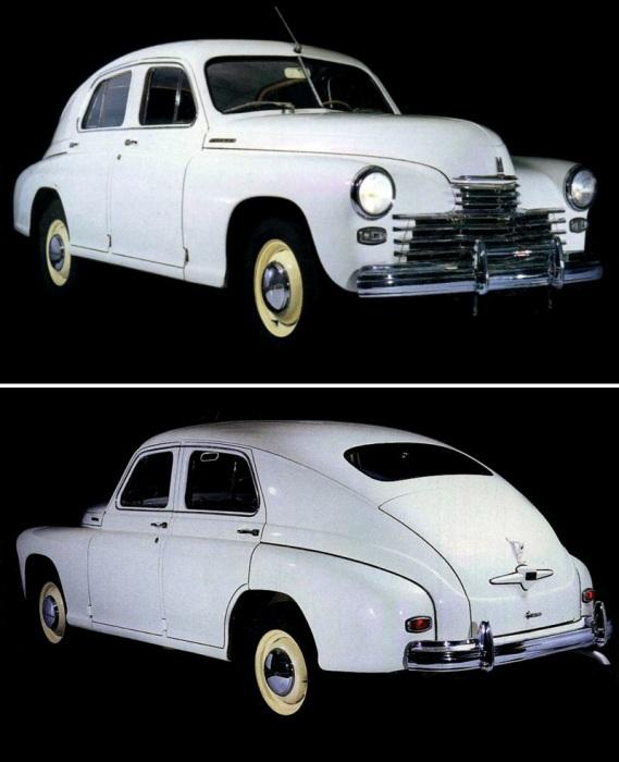 Оригинальная ГАЗ М-20 «Победа» 1950-х годов. | Фото: autowp.ru. 70 лет назад начался этап крупносери