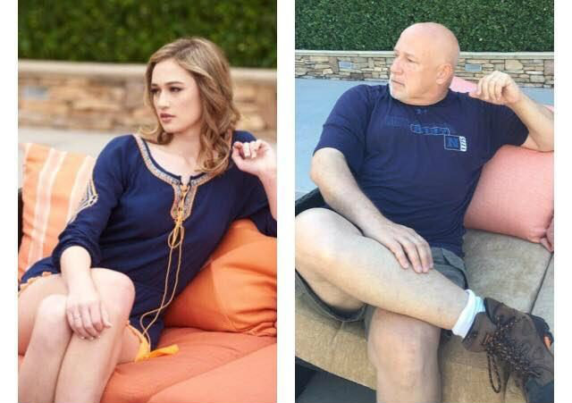 Так уж вышло, что недавно родители Кендел были в командировке в Лас-Вегасе и остановились в том же с