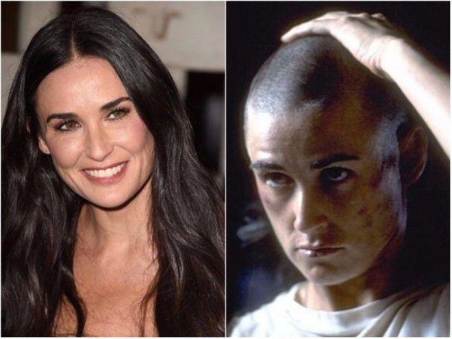 В позапрошлом ноябре дочь Деми Мур Румер показала, как ее сестра Таллула бреет голову,вдохновившись