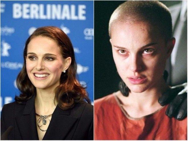 Сбривание волос с головы Натали Портман — одна из ключевых сцен в культовом фильме Вачовски. П