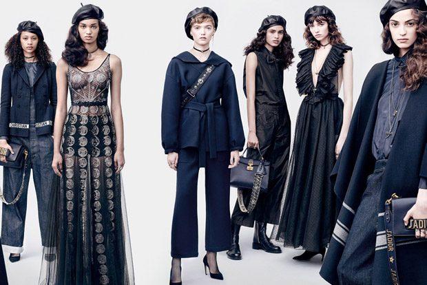 Dior Fall Winter 2017.18 by Brigitte Lacombe