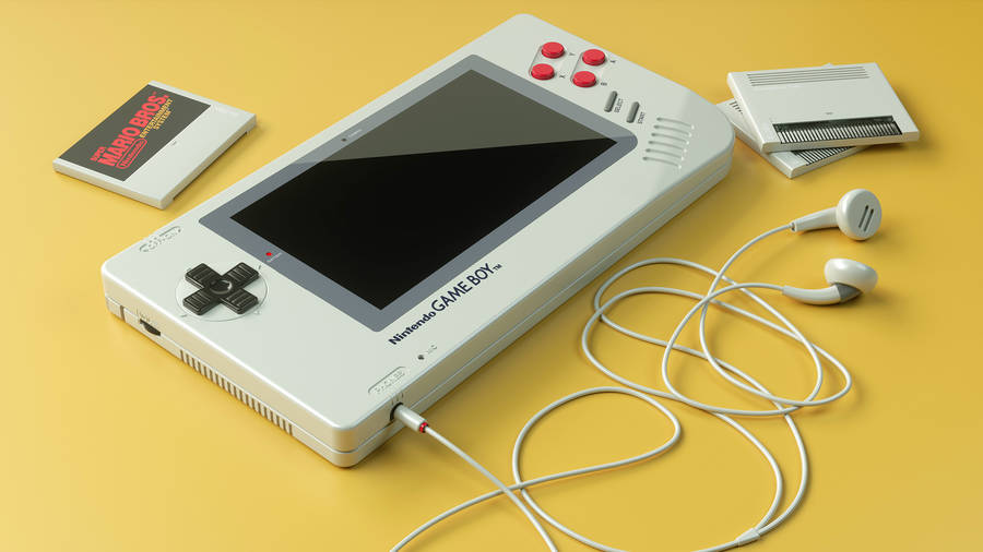 Game Boy Concept with Vintage Elements (5 pics)