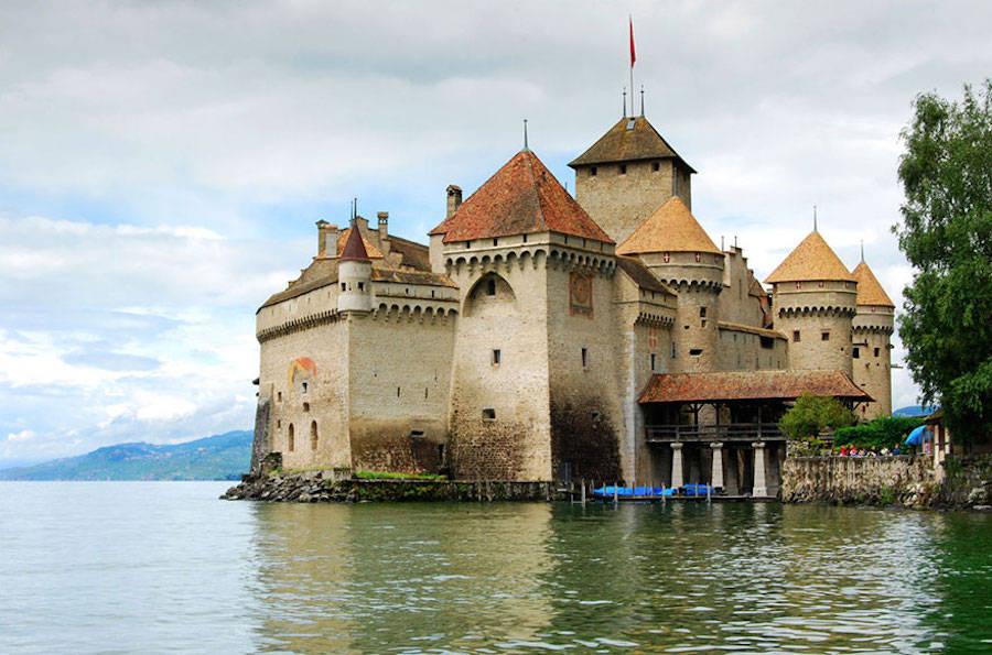 The Little Mermaid – Chateau De Chillon, Lake Geneva, Switzerland.
