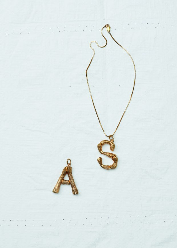 CELINE Alphabet Pendants for Winter 2017
