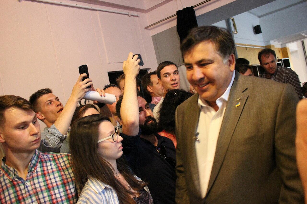 пана Михаила Саакашвили
