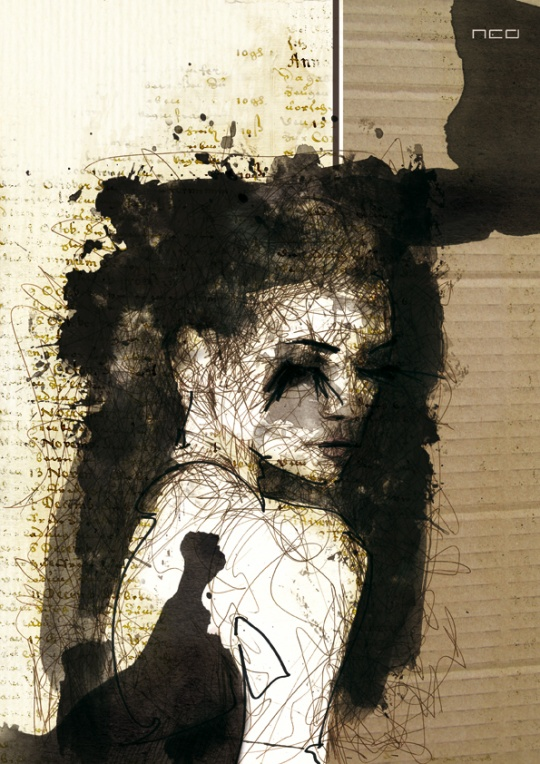 Water Paintings by Florian NICOLLE
