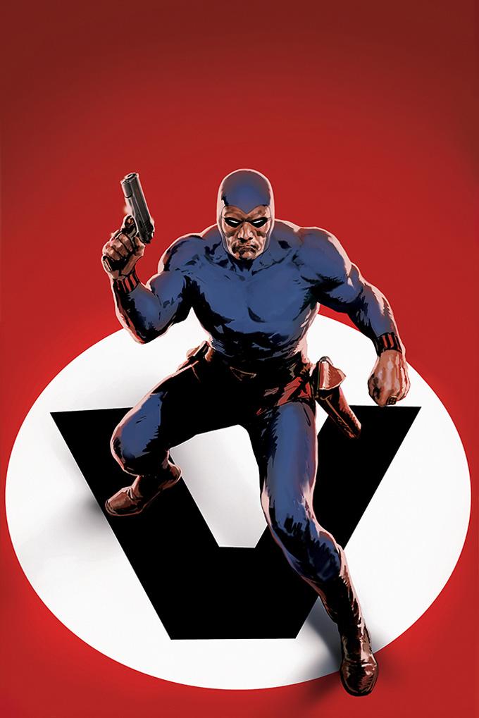The Phantom Comic Book Cover Art by Henrik Sahlstrom