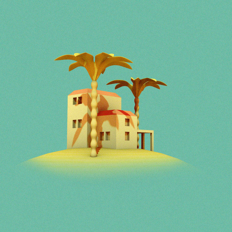 Colorful & Graphic Animated GIFs by Alice Tortue