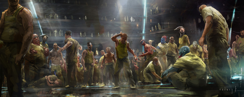 Guardians of the Galaxy Concept Art by Rodney Fuentebella