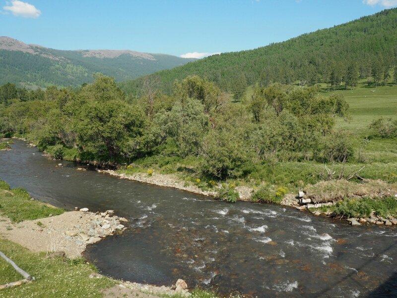 Алтай, река Сема (Altai river Sema)