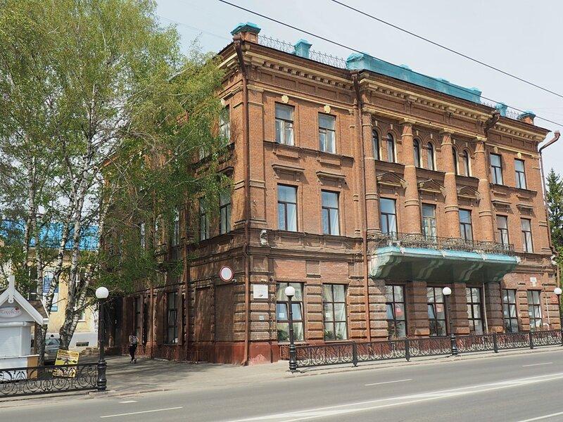 Томск, проспект Ленина (Tomsk, Lenin Avenue)