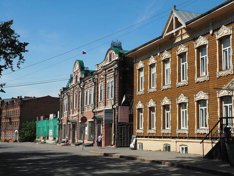 Томск, улица Обруб (Tomsk, Obrub Street)