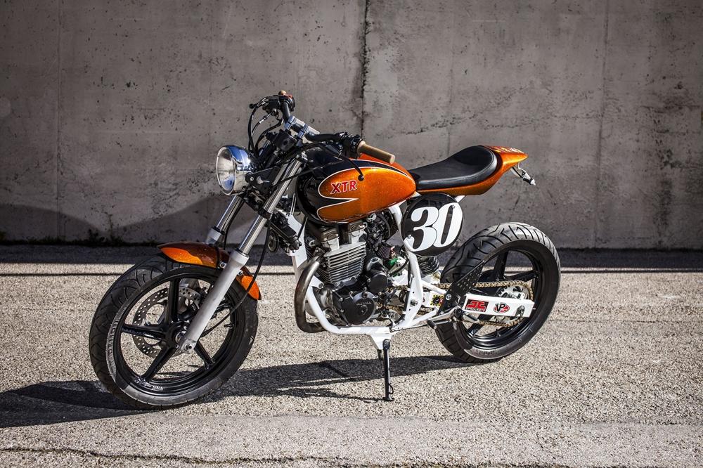 XTR Pepo: трекер Honda CBF250