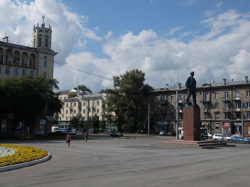 Новокузнецк - Площадь Маяковского