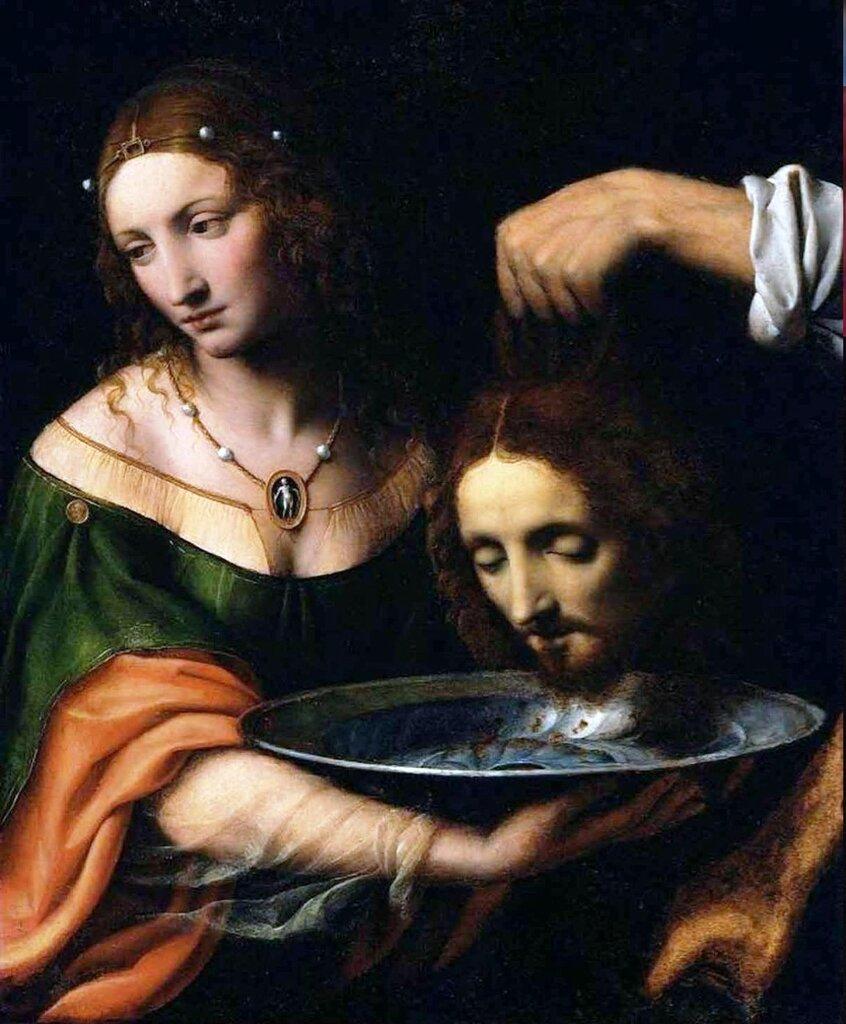 Бернардино Луини. «Саломея с головой св. Иоанна Крестителя».jpg