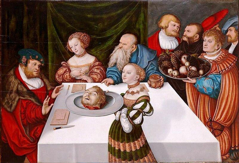 Лукас Кранах. Праздник Ирода.1531 г..jpg