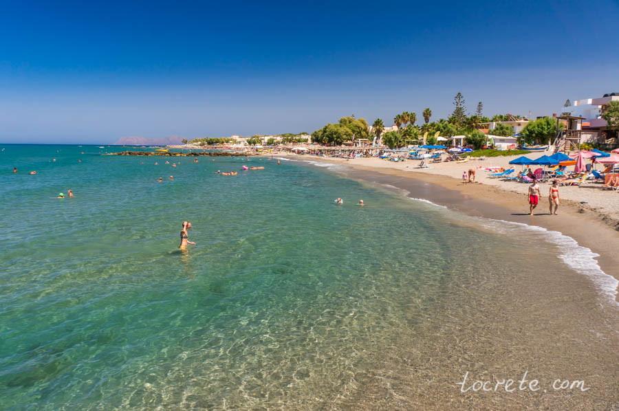 Пляж Агия Марина | Agia Marina Beach