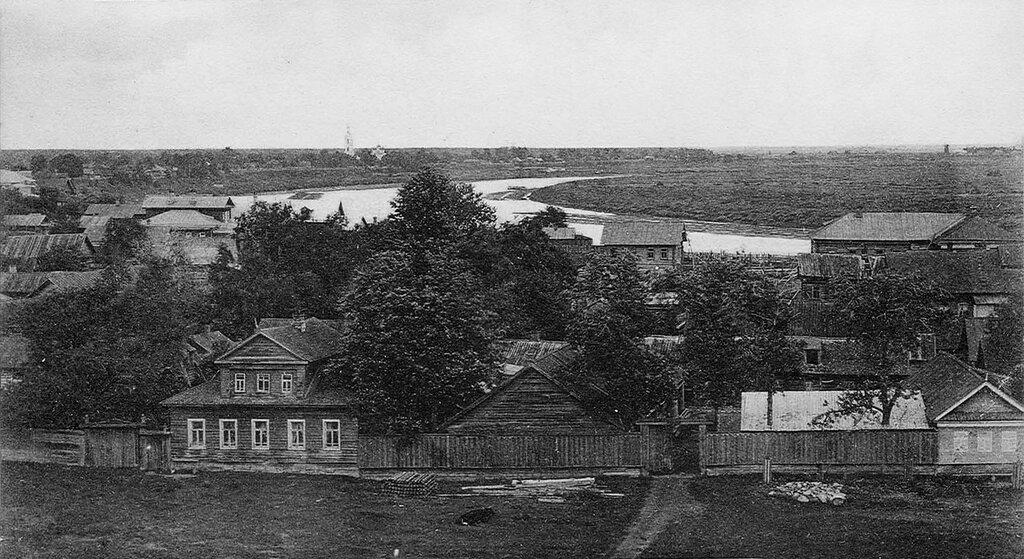 615042 Молога. Вид на город и реку Мологу 900-10-е.jpg