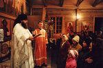 Ночное Пасхальное богослужение.