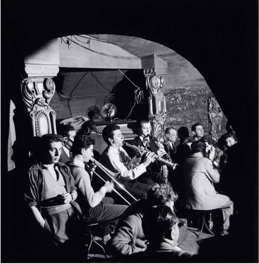 1949. Клод Лутер и его оркестр, клуб на Сен-Жермен