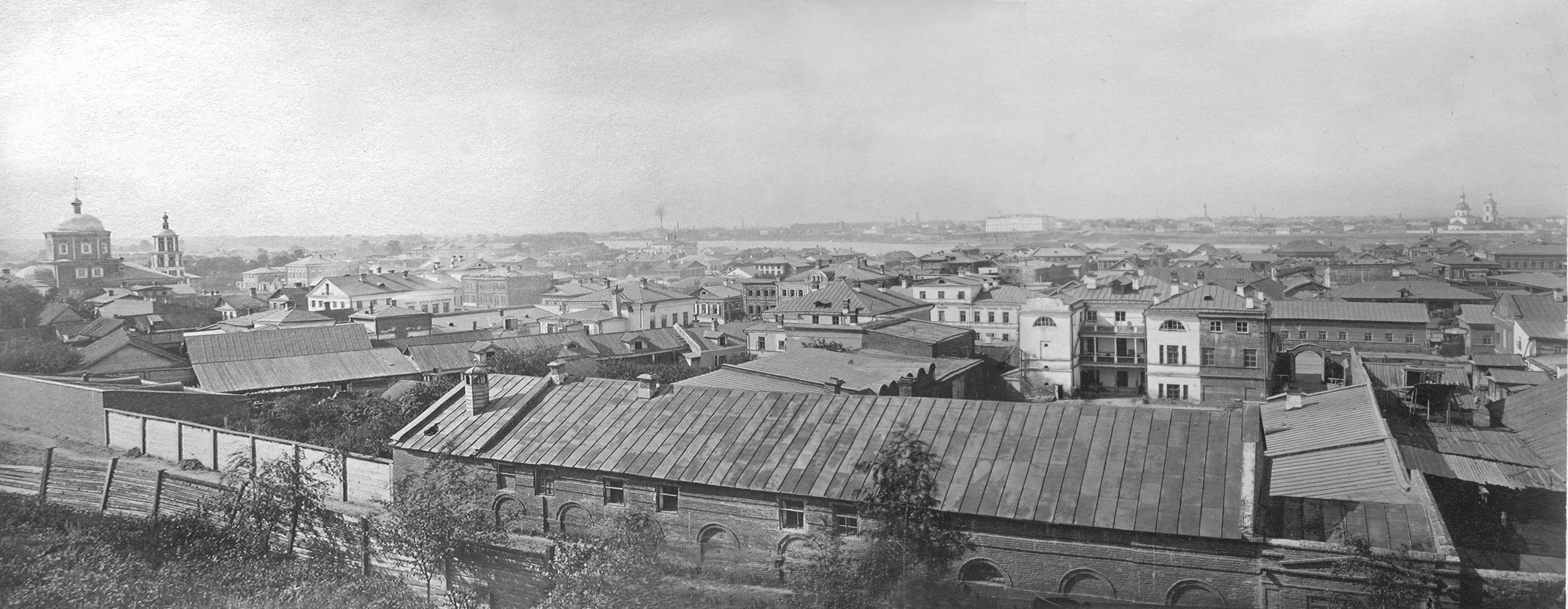 1879. Вид на Суконную слободу.