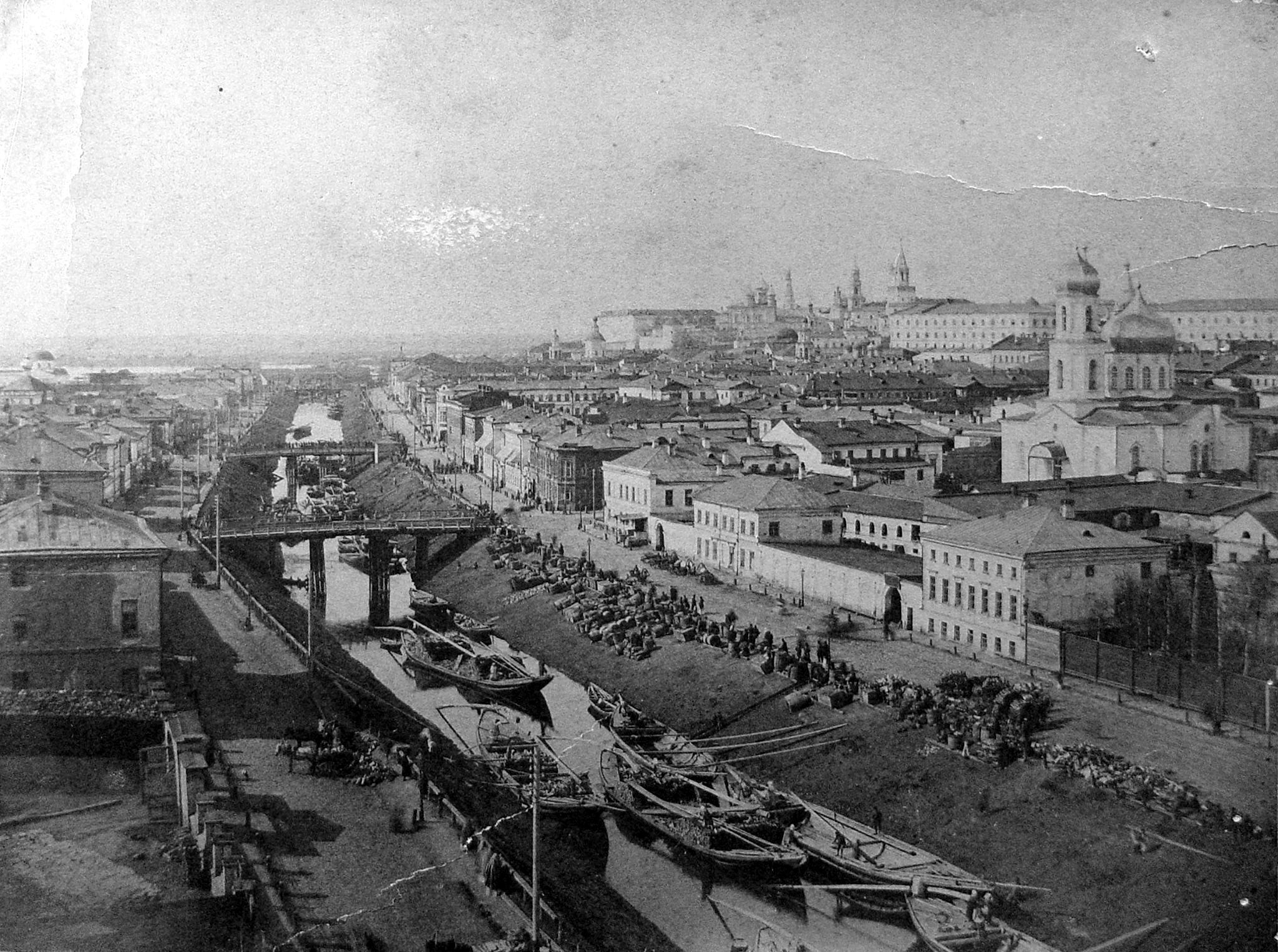 1880-е. Вид на протоку Булак