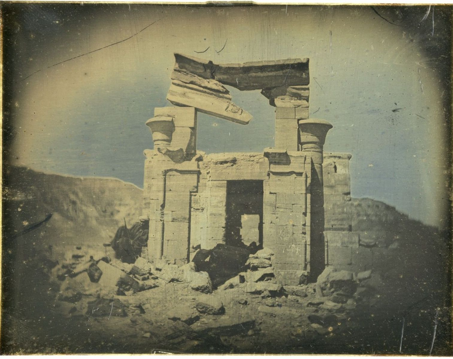 Джебел-Селселех. Малый храм