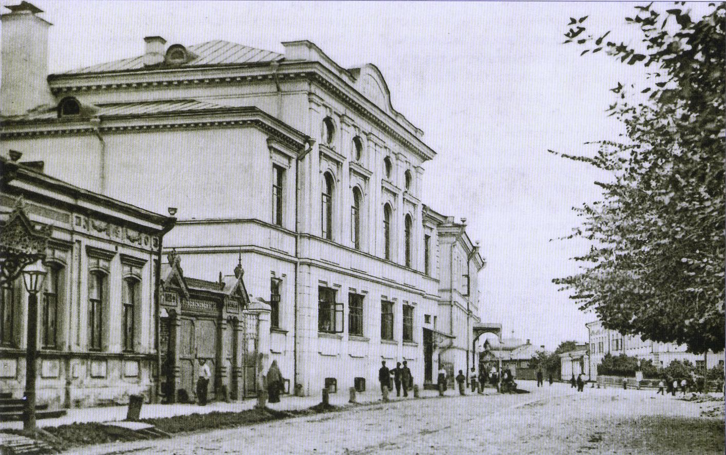 2-я мужская гимназия на Николо-Дворянской улице