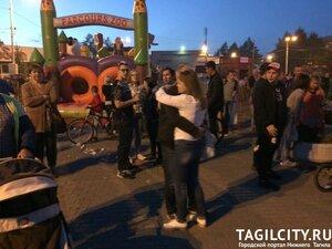 Вагонка,дети,Нижний Тагил,день города,день города 2017,праздник,Холи,пена,дискотека