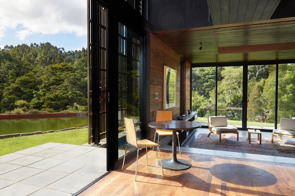 Современный дом в Новой Зеландии