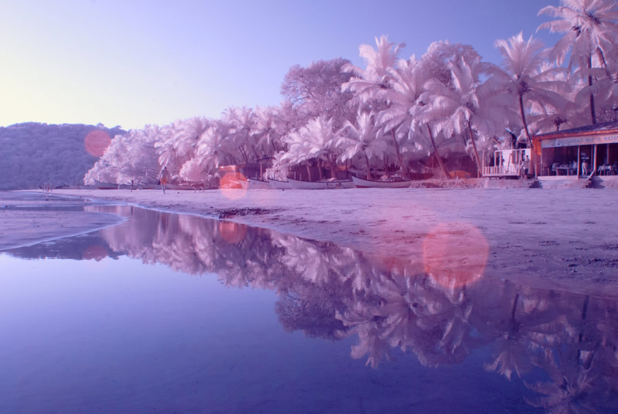 Инфракрасные фото Гоа