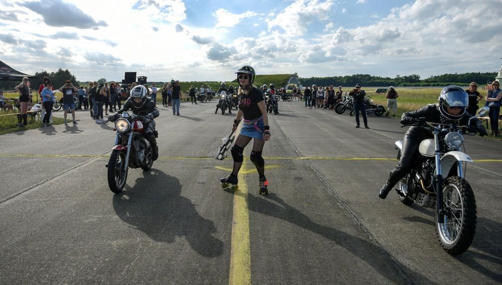 Фестиваль байкерш в Германии