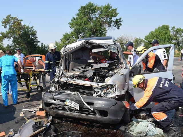 В ДТП на Николаевщине погибли 3 человека, в том числе ребенок. ФОТОрепортаж+ВИДЕО