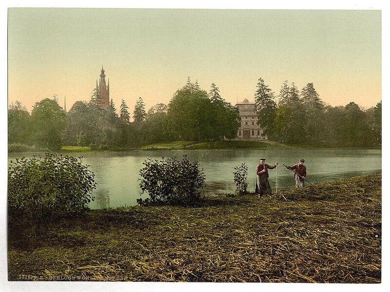 Виды Германии на цветных фотографиях 19 века. 1.