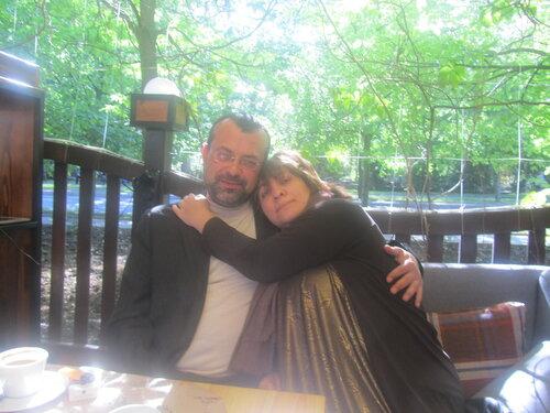 Кoфман и я.JPG
