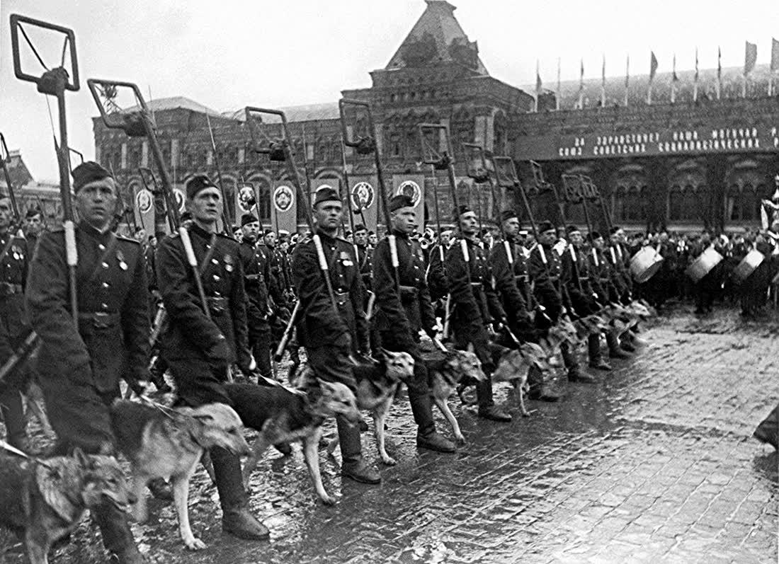 День Победы. Парад Победы 24 июня 1945 года