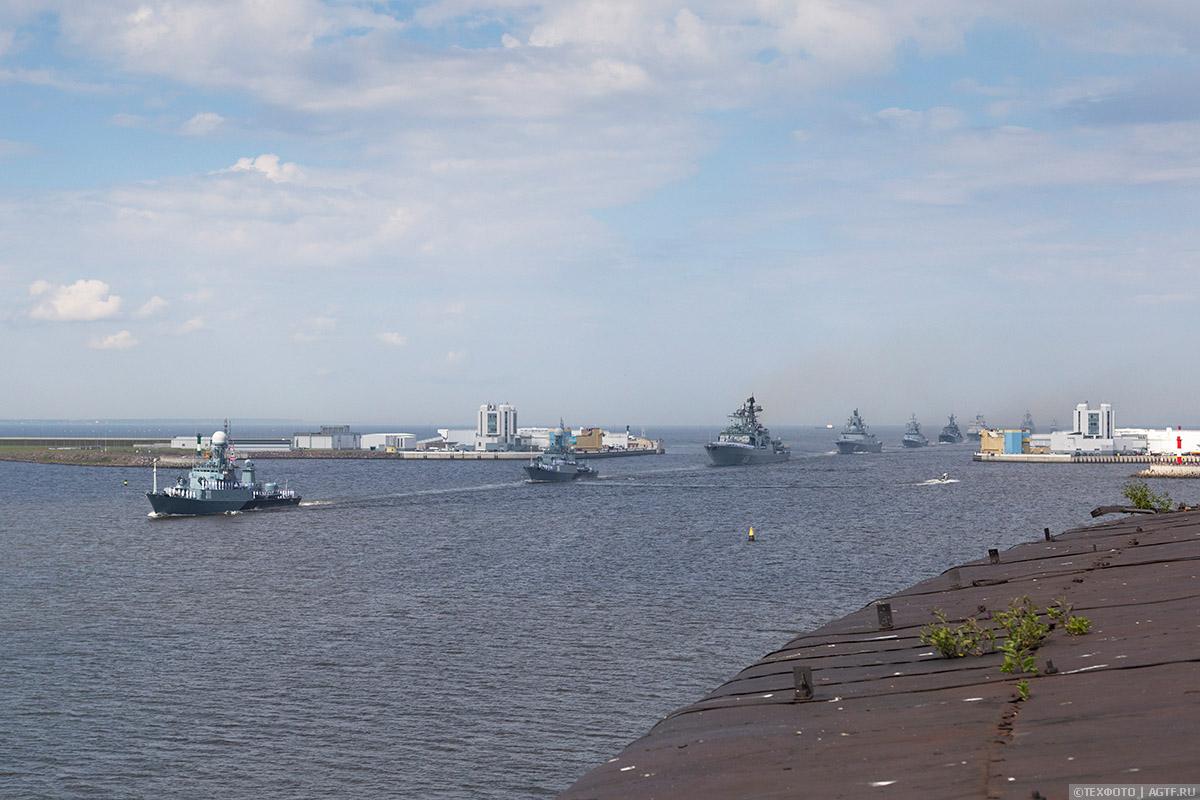 Главный Военно-Морской парад. Кронштадт.