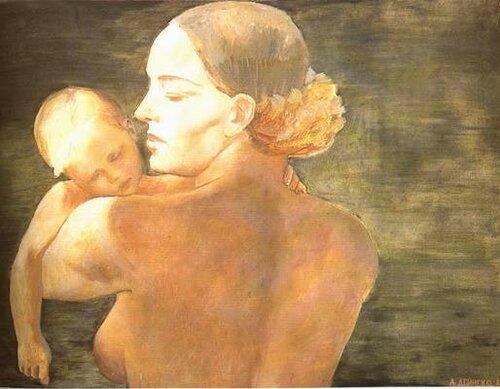 Художник Дейнека Александр Александрович (1899—1969)   Мать 1932