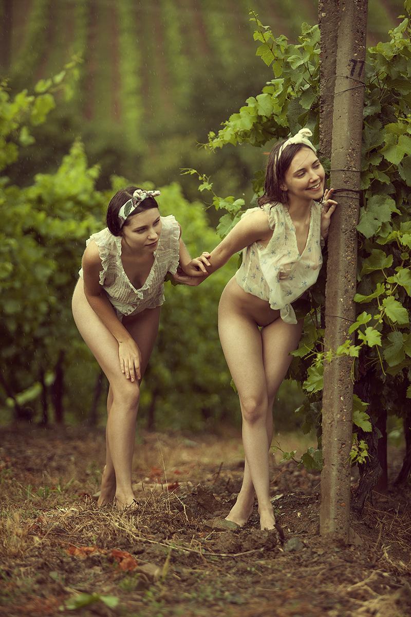 модели Женя и Лера / фотограф Шаповалов Павел