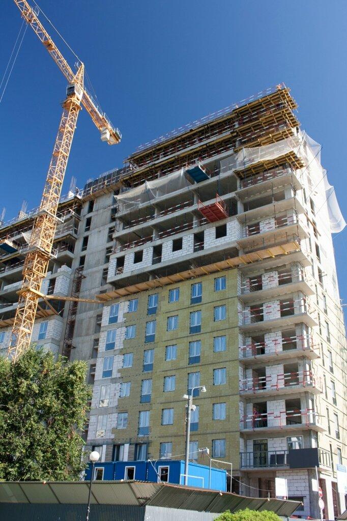Будущий апарт-отель в Коньково, июль 2017