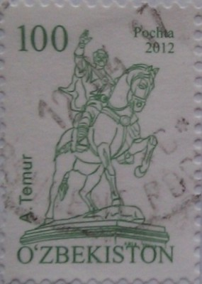 узбекистан 2012 а.темур 100