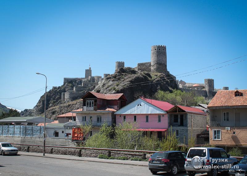 Фотографии крепости в Ахалцихе