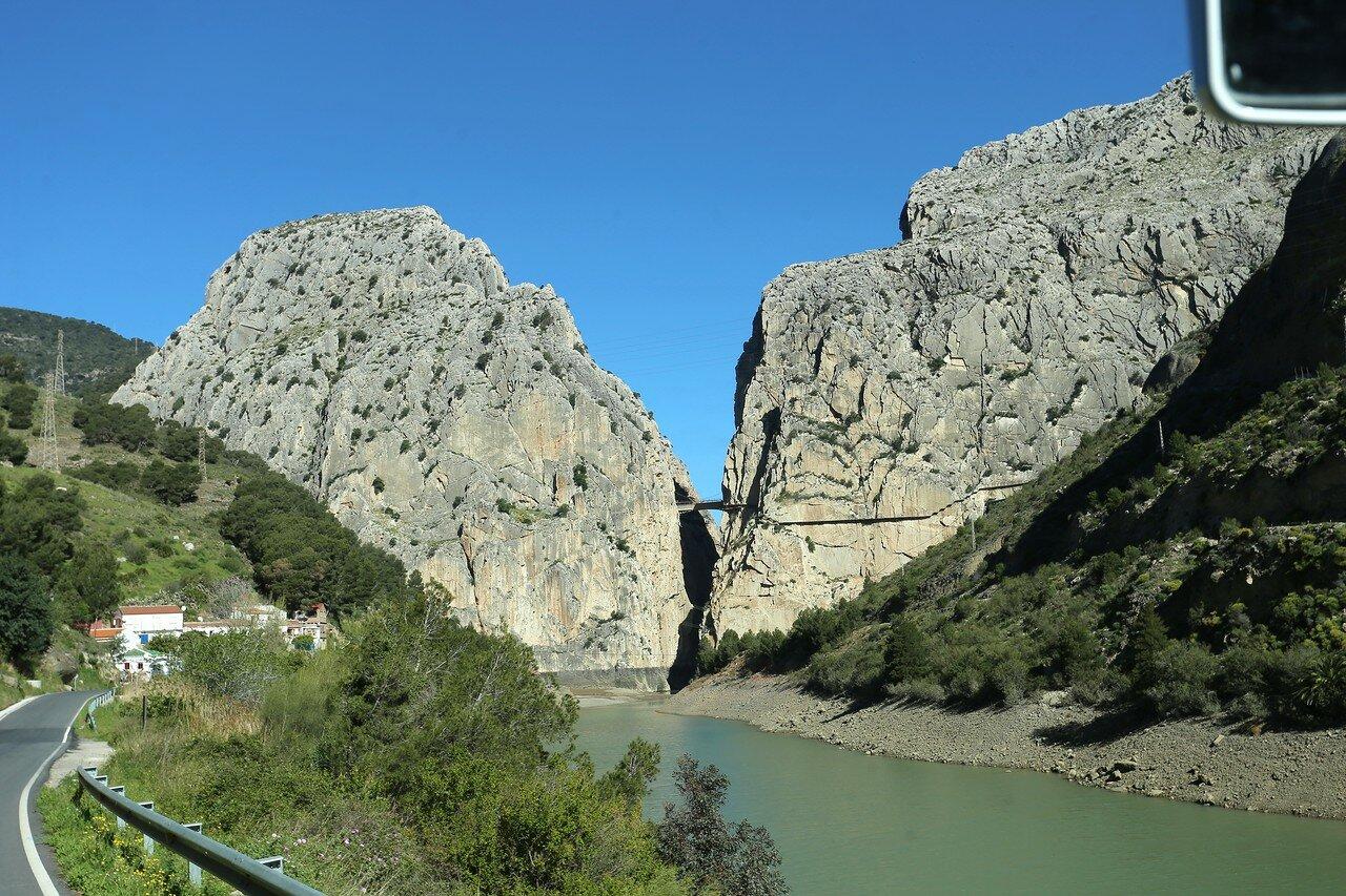 El Chorro. The gorge of Gaitanes (Desfiladero de los Gaitanes)