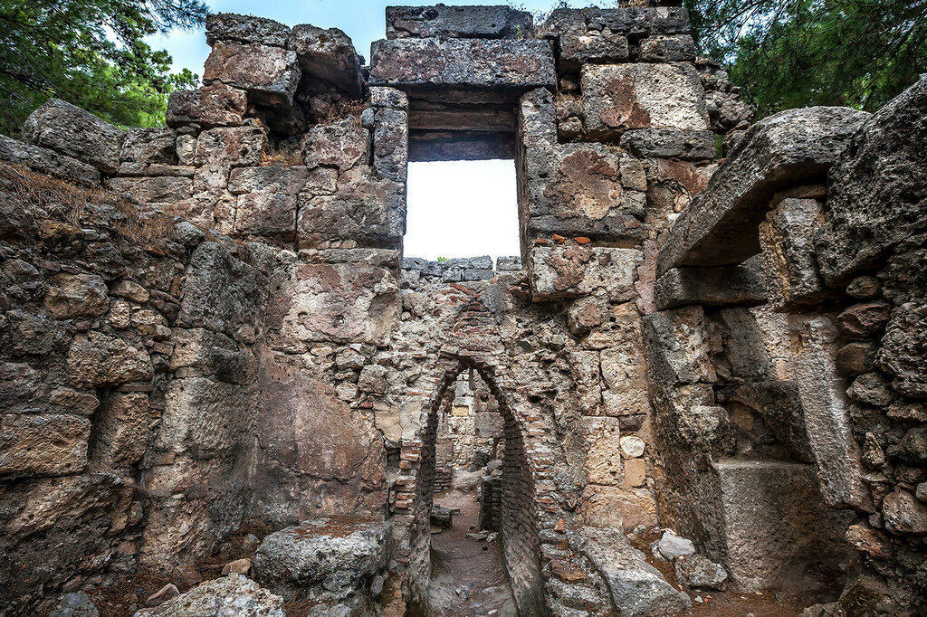 Остатки Римской империи...