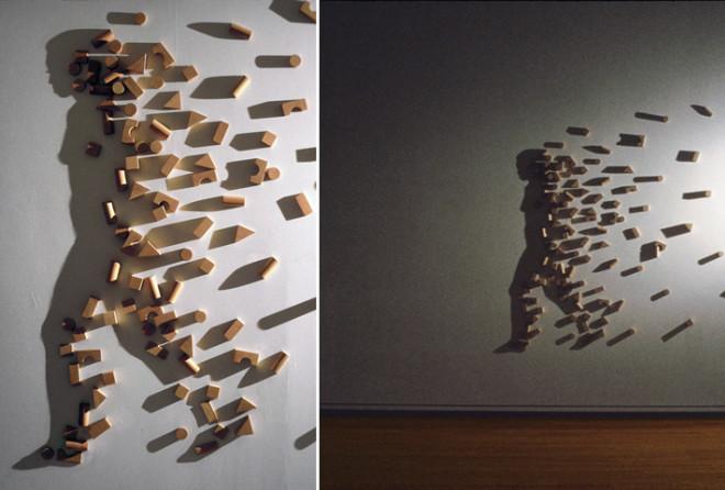 Искусные теневые инсталляции от Куми Ямашиты (10 фото)