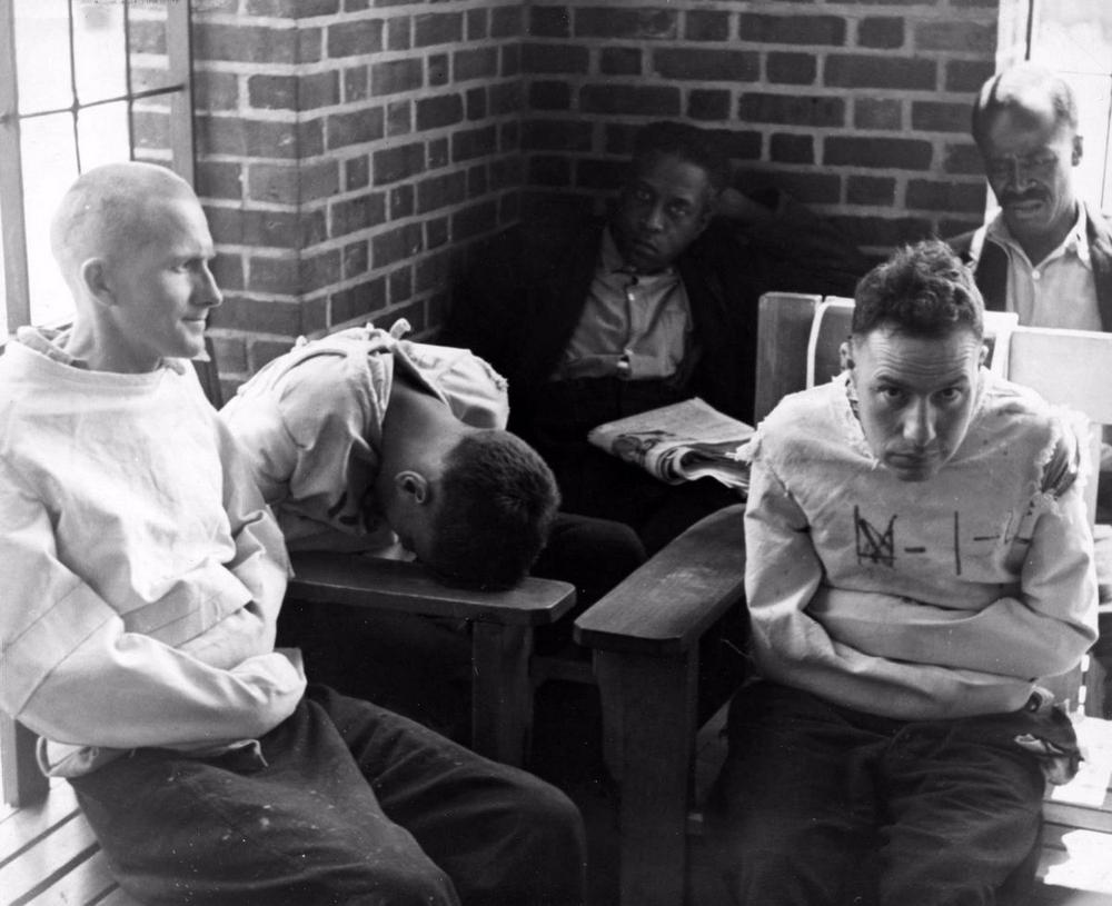Пациенты психиатрической больницы в фотографиях Альфреда Эйзенштадта (21 фото)