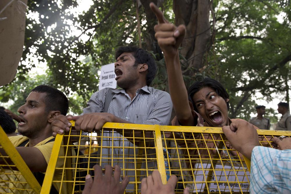 Кадры повседневной жизни в Индии
