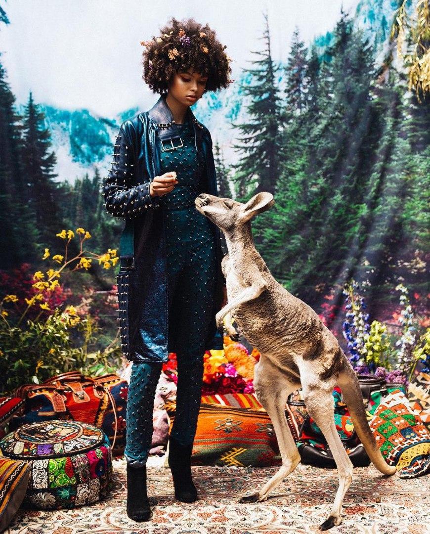 """Серия фотографий """"Where the Wild Things Are"""" фотографа Наташи Вилсон (Natasha Wilson)"""