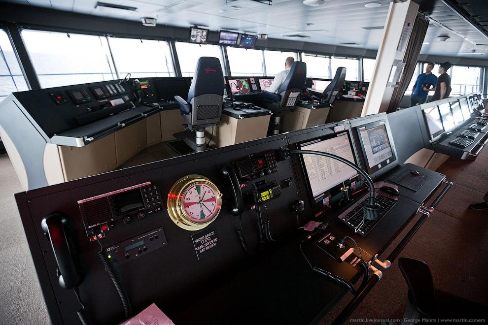 22. Для активной стабилизации судна используются система выдвижных стабилизаторов и «подводных