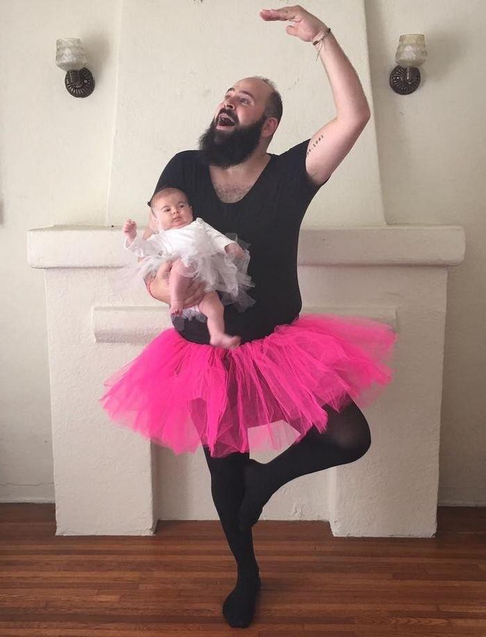 Нереально крутой папа, который делает прекрасные фотографии со своей маленькой дочкой